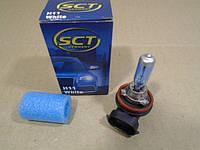 Лампа H11 12В 55Вт PGJ19-2 галогенная SCT