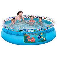 Надувной семейный бассейн Немо BestWay 91029, 198х51см