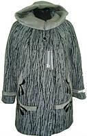 Модное женское зимнее пальто с капюшоном