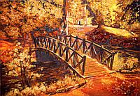 Пейзажи из янтаря. Картина из Янтаря Мостик