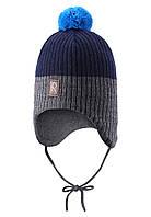 Зимняя шапка с бубоном  Reima 518355-6980. Размер 48.