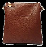 Классическая женская сумка Pretty woman коричневого цвета на плечо, фото 1