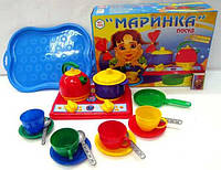 """Набор посуды """"Маринка"""" 19 предметов"""