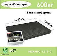 Весы платформенные 4BDU600-1215-С Стандарт