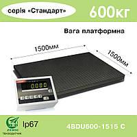 Весы платформенные 4BDU600-1515-С Стандарт