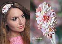 """Обруч/веночек для волос """"Карамельный микс"""", фото 1"""