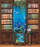Фотообои *Библиотека* 242х207