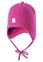 Шерстяная шапка для девочки Reima 518359-4620. Размер 46-52.