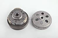 "Вариатор задний на скутер    4T GY6 125/150   ""F-64""   (с барабаном)"