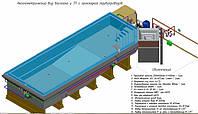 Проектирование бассейнов, КЖ и ТХ для бассейна