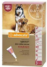 Капли от блох Bayer Advocate (Баер Адвокат) для собак  25-40 кг 1 пипетка