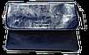 Сумка- клатч женская Pretty woman синяя глянец