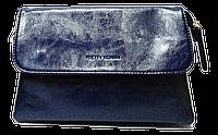 Сумка- клатч женская Pretty woman синяя глянец, фото 1