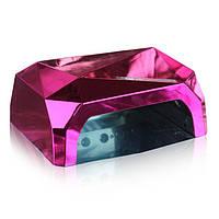 Лампа Diamond CCFL+LED 36W розовая