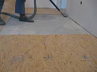 Монтаж   OSB  на бетонное основание с полным приклеиванием + дюбель-гвоздь. Чернигов.