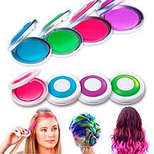 Мелки для волос Hot Huez Temporary Hair Chalk, фото 2