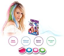 Мелки для волос Hot Huez Temporary Hair Chalk, фото 3