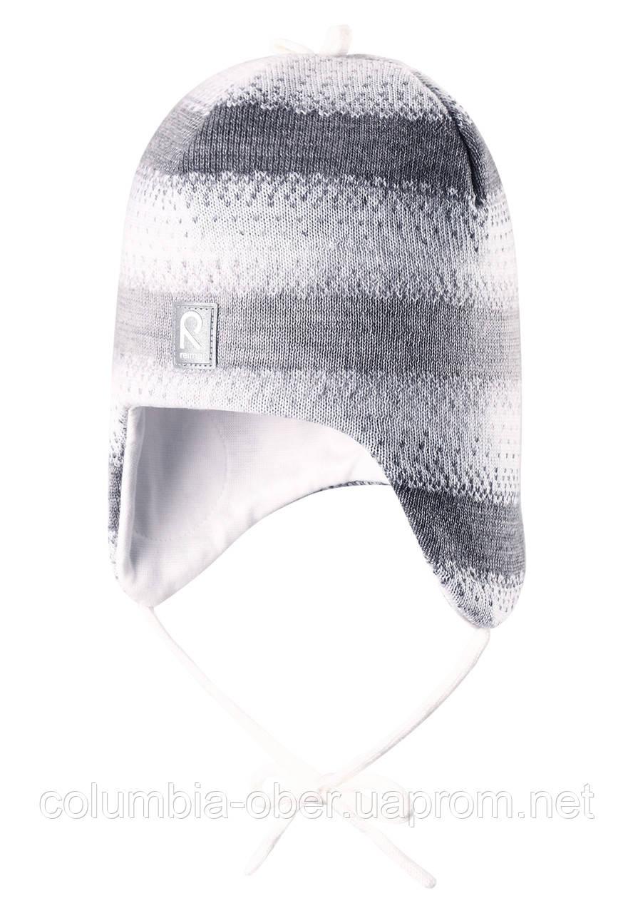 Шерстяная шапка для девочки Reima 518361-0110. Размер 46-52.