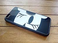 Глянцевый чехол-накладка для iPhone 6/6s минни-маус
