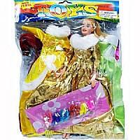 Кукла с нарядом 888 АВ-1 в кульке, 26-35см