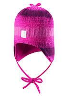 Зимняя шапка для девочки Reima 518361-4620. Размер 46-52.
