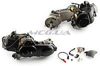 """Двигатель на скутер   4T GY6 80cc   (139QMB, короткий)   (10"""" колесо, карбюратор, коммутатор, катушка зажигания)   """"SL"""""""