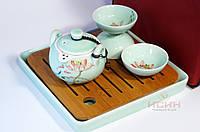 "Набор для чаепитий походный ""Посуда + Чабань"" #6 Чабань, сумочка, фото 1"