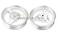 """Диск колеса на скутер   3,50 * 13   (зад, диск)   (легкосплавный, 19 шлицов, под камерную шину)   """"ZY"""""""