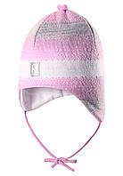 Шапка на завязках для девочки Reima 518361-5000. Размер 46-52.
