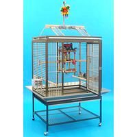 Вольер для попугаев из алюминия (84.3х63.2х185см)