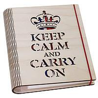 """Блокнот """"Keep Calm and Carry On"""""""