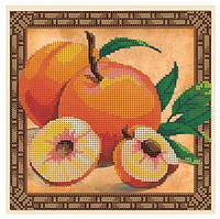 """Схема для частичной вышивки бисером - """"Сладкий персик"""""""