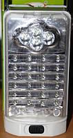 LED фонарь DOK601,24+4+3 лед ламп, на батареях 3D