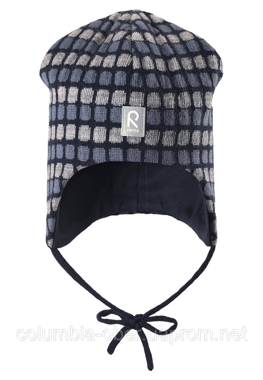 Зимняя шапка для мальчиков Reima 518362-6980. Размер 46-52.