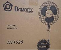 """Напольный вентилятор Domotec-1620  16"""" с таймером и решеткой в виде сетки"""