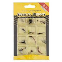 Набор мушек Gold Star Fly Set 12 шт. Trout I