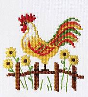 """Набор для вышивки крестом """"Петушок"""""""