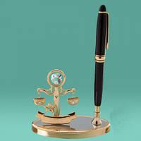 """Письменные наборы с ручкой знаки зодиака """"Весы"""" оригинальные подарки"""
