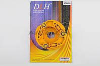 """Колодки сцепления (тюнинг)  на скутер   Yamaha JOG 90 3WF, 2T Stels 50   """"DLH"""""""