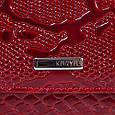 Качественный женский кошелек из натуральной кожи KARYA SHI1101-019 красный, фото 5