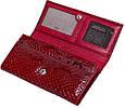 Качественный женский кошелек из натуральной кожи KARYA SHI1101-019 красный, фото 6