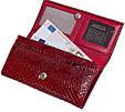 Качественный женский кошелек из натуральной кожи KARYA SHI1101-019 красный, фото 7