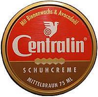 Крем для обуви в банке - Centralin Schuhcreme (коричневый) (Оригинал)