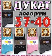 """Носки женские демисезонные х/б ТМ """"Дукат""""  Украина НЖД-02467"""