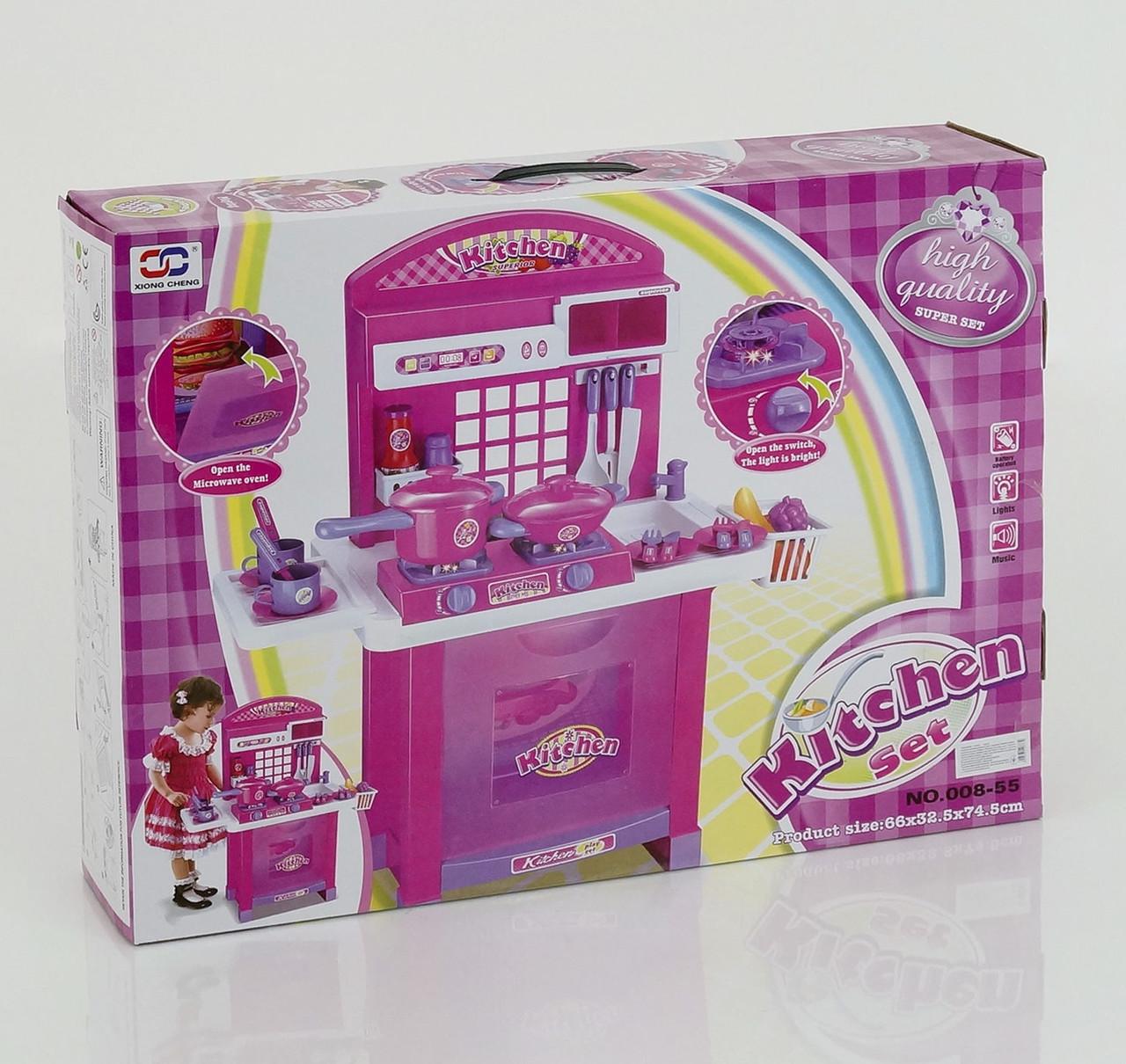 Детская игровая кухня 008-55