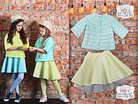 Детская одежда, юбка для девочки ТМ МОНЕ