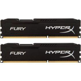 Модуль памяти DDR3 2x4GB/1866 Kingston HyperX Fury Black (HX318C10FBK2/8)