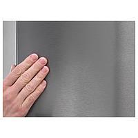IKEA КИЛИГ Холодильник/морозильник A++, система No Frost нержав сталь : 50282356, 502.823.56