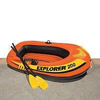 Лодка надувная на 1 чел 185-94-41 см EXPLORER Супер Цена!!!