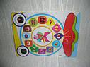 Деревянные игрушки - рамка вкладыш часы, фото 2